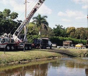 Old Plantation Canal Maintenance